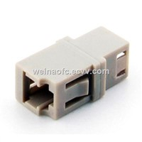 Optical Fiber Adaptor LC-LC Simplex Beige Housing