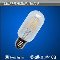 High Quality LED Filament T45 2W/4W 480lumens E26/E27/B22