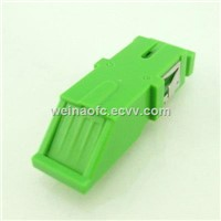 Optic Fiber Adaptor SC-SC with Cover Door Simplex Flangeless