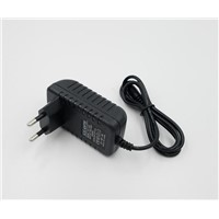 12V 500mA AC-DC Adaptor 12V Adapter with 5.5*2.1*10mm Euro Plugs