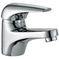 High Quality Brass Chrome Bathroom Wash Basin Faucet