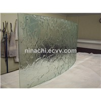 Cast in Place Liquid Resin Water like Glue Laminated Glass