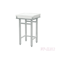 Stainless Steel Kitchen Corner Working Table/ Chopping Table