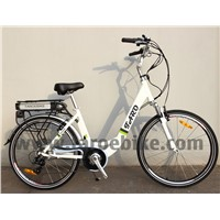 Lady e-Bike Bicycle Rear Battery
