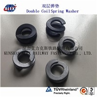 Double Spring Washer/ Double Coil Washer/ Coil Spring Washer