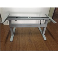 Dual Motor Three Stages Height Adjsutable Desk