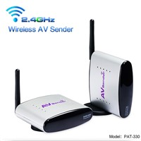 PAKITE 150m 2.4GHz A/V Transmitter/Receiver Wireless Video Sharing Device PAT-330