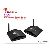 PAKITE with Long Distance 250m 2.4GHz Smart Wireless TV to TV AV Sender PAT-246