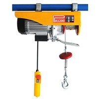 PA Type Portable European 500kg Electric Chain Hoist