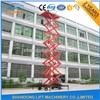 18m Hydraulic Scaffolding Lift Mobile Scissor with CE