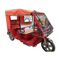 60V1000W Three Wheel Electric Tricycle for Passenger for Bangladesh