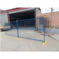 Powder Coating 6x9.5ft Canada Tempoary Fencing