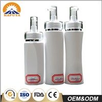 Opaque Cosmetic Lotion Pump Bottle with Transparent Cap(SSH-3049)
