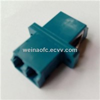 Optic Fiber Adaptor LC-LC Duplex Singlemode Plastic Housing