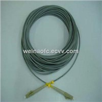 Optical Fiber Armoured Patch Cord Cable Multimode LC-LC Simplex