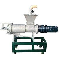 Poultry Manure Chicken Manure Dewater Machine Cow Dung