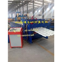 Glazed Steel Tile Roll Forming Machine (960)