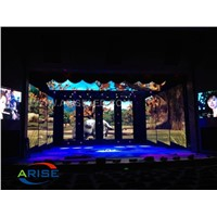 P4.81 P3.91MM Indoor Rental LED Display with SMD2121 Black Lamp, SMD Die-Casting Stage LED Display Rental