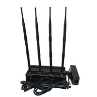 4 Antenans Adjustable 5.2G/5.8G 2.4G WiFi Jammer