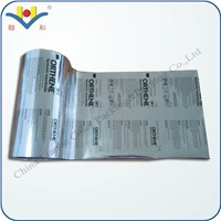 Cosmetic Sample Package Pouch-Aluminum Film
