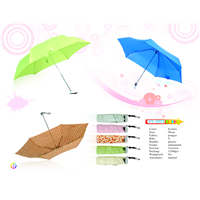 Auto Open Folding Rain Umbrella