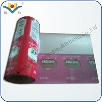 the Half Transparent with Aluminum Packing Roll Film