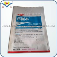 Three Side Sealing Plastic Bag with Handle