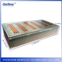 Hot Selling Aluminum Skive Technology Custom High Power IGBT/APF Large Heat Sink with Heat Pipe