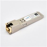 SFP RJ45 10/100M Cisco Compatible Copper-T SFP Optical Transceiver Module