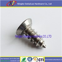 Stainless Steel Flat Head Undercut Self Tapping Screws