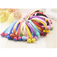 Pet Collar Pet Collars Pet Collar & Leash Pet Dog Cat Paint Big Bell Collar
