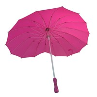 Heart Shape Folding Umbrella