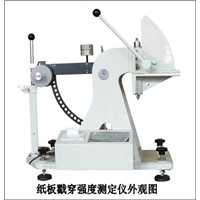 PAPERBOARD PUNCTURE STRENGTH TESTER