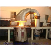 Gold, Copper, Silver, Aluminum, Iron, Steel, Induction Melting Furnace 3000kg