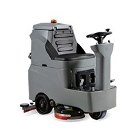 Automatic Driving Type Floor Scrubber Dryer DR-700 Airport Cleaning Machines