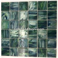 Stained Glass Mosaics for Swimming Pool