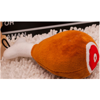 Pet Toy Dog Cat Bite Toy Chicken Plush Toy with Sound