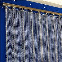 Hanging Metal Wire Mesh Curtain, Room Divider for Decoration