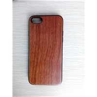 Natural Wooden Case with TPU Good Quality Wooden Phone Shell for iPhone