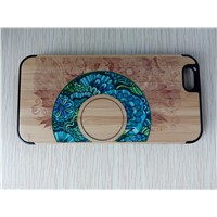 High Quality Color Painting Wooden Case for Mobile Phone