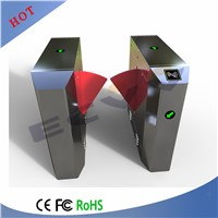 Customized Face Recognition Flap Barrier Gate, Turnstile Access Control