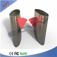 Stainless Steel Remote Control Automatic Entry Barriers, Flap Barrier Gate