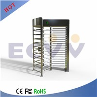 Stainless Steel Rotating Gate, Pedestrian Control Security Full Height Turnstile
