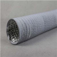 China Supplier Non Insulated Air Duct Hose Air Conditioner PVC Combined Flexible Duct for Sale