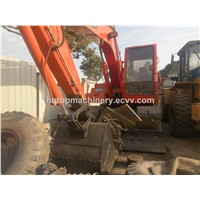 Used Korean Wheel Excavator, Cheap Hydraulic Doosan WV140 Wheel Digger, South-Korea Good Condiiton Digger