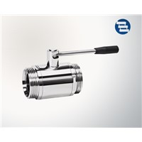 Sanitary Forged Stainless Steel Threaded Ball Valve