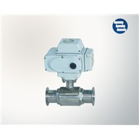 Sanitary Forging Stainless Steel Electric Clamped Ball Valve