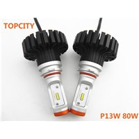 P13w LED Bulbs Super Bright Headlight Headlamp Lighting Accessory