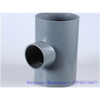 Plastic PVC Reducing Tee Pipe Fitting
