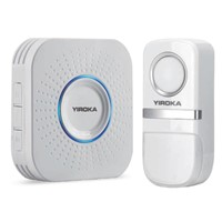YIROKA Wireless Doorbell with Three Receivers